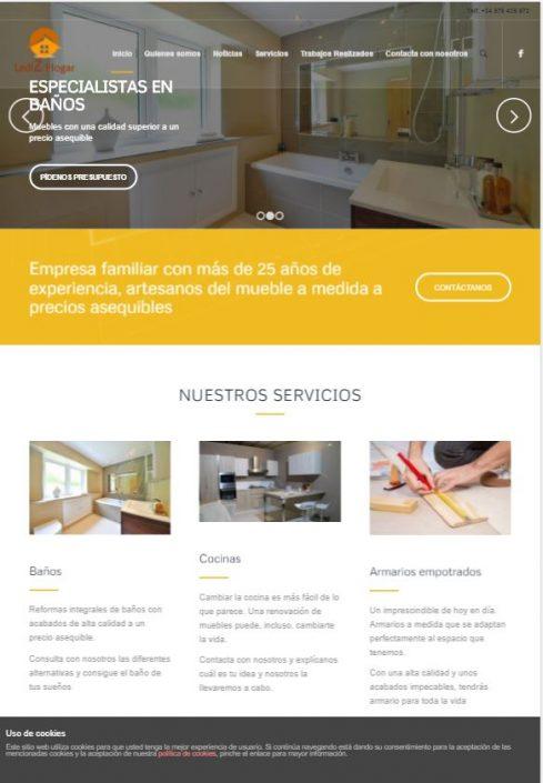 Empresa de Reformas y Fabricación de Muebles en Zaragoza