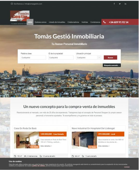 Inmobiliaría en Barcelona